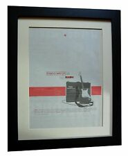 MENSWEAR+Stardust+POSTER+AD+RARE ORIGINAL 1995+QUALITY FRAMED+FAST GLOBAL SHIP
