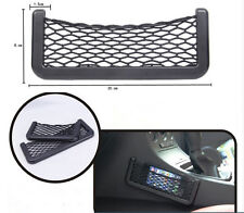 Luxury Car Multi-function Storage Net Interior Pouch GPS Phone Pocket Organizer