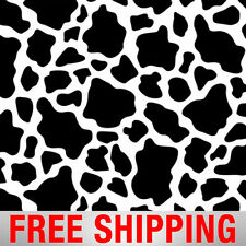 """Fleece Fabric Cows Spots Style 4476 60"""" Wide Free Shipping"""
