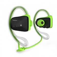 Green Colour Bluetooth Neckband Sports Headphones with NFC