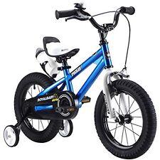 RoyalBaby BMX Freestyle KIDS BIKE, 16 inch Steel Frame BMX BICYCLE, Blue