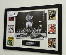 *** Rare MUHAMMAD ALI SIGNED Photo picture Display ***