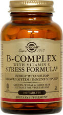 Solgar B-Complex with Vitamin C Stress Formula 100 Tablets