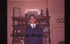 Vintage 35mm Slide Handsome Man Boy Suit Tie Hummel Figurines Fashion 1970!!!