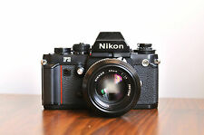 NIKON F3  Professional SLR  w/ Nikkor 50mm f/1.4 Lens * Good/User * FM2, F2 F4