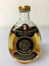 Mignon Miniature Vecchia Romagna Brandy Etichetta Nera Buton 30cc 40% Vol E.