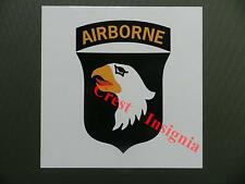 U.S.101st Airborne vehicle jeep sticker.
