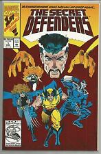 The Secret Defenders #1, Vintage Marvel comic book from March 1993