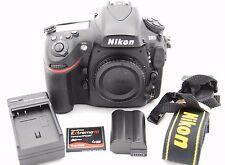 NIKON D800 36.3MP 3.2''SCREEN DIGITAL SLR CAMERA BODY ONLY - SHUTTER COUNT:7533