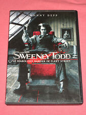SWEENEY TODD - LE DIABOLIQUE BARBIER DE FLEET STREET- JOHNNY DEPP - DVD