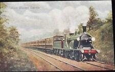 OLD POSTCARD OF LOCOMOTIVE - SOUTHERN WESTERN EXPRESS