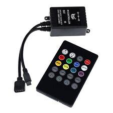 Musique Activé Par Le Son RGB LED Contrôleur pour lampe Rayure Télécommande