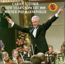 Vienna Philharmonic, Kleiber, Ca, New Year's Concert 1989, Excellent