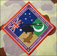 Operation Pakistan Assist JTF632 - New - Excellent Quality Patch - R&HTF