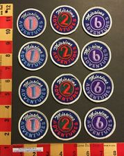 Patch Lot 12 Christian Evangelical Missions Adventure Church Club Kids Activity