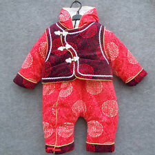 Chinese tranditional fancy clothing for12M-18M baby
