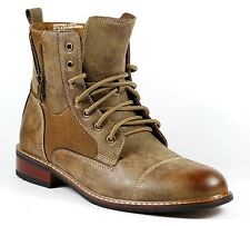 Ferro Aldo Men's Military Combat Work Desert Ankle Boot MFA-808561