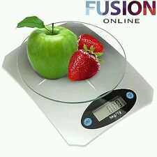 5KG DIGITAL LCD ELECTRONIC GLASS KITCHEN COOKING FOOD POSTAL WEIGHING SCALES 6