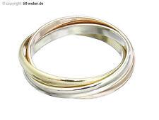 """Cartier anillo """"Trinity estrecha"""" de anillo 49 750er oro certificado tricolor"""
