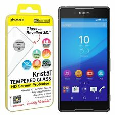 AMZER Kristal Tempered Glass HD Screen LCD Protector For Sony Xperia Z4 Z3+ PLUS