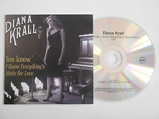 DIANA KRALL : YOU KNOW - I KNOW, EVERYTHINGS MADE... [ CD PROMO ] ~ PORT GRATUIT