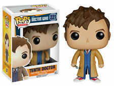 FUNKO POP TELEVISION DOCTOR WHO TENTH DOCTOR #221 NEW IN BOX #4627
