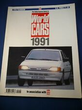 DAILY EXPRESS GUIDE TO WORLD CARS 1991  UK FREEPOST