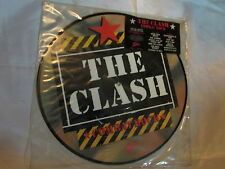 The CLASH ~ Combat Rock - 1983 Limited Edition PROMO PICTURE DISC Punk LP