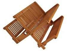 Totally Bamboo Collapsible Dish Rack, Extra Large