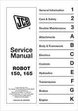JCB 150 165 Robot Service Manual (B231)