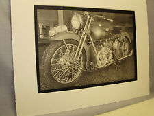 1939 Brough Superior   Motorcycle  Exhibit From National Motorcycle Museum