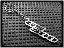 KEYRING for SUZUKI GS500 GS - STAINLESS STEEL - HAND MADE - CHAIN LOOP FOB