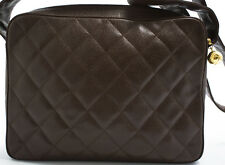 Chanel bolso bandolera shoulder Bag 29x22cm Cavier skin Messenger mantos