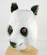 Panda Latex Fancy Dress Animal Mask Panto Stage Fancy Dress Accessory P7547