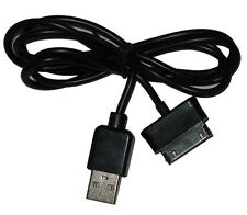 "USB Data Cable Sync Charger Lead For Samsung Galaxy Tab 8.9"" P7300 P7320 Black"