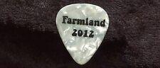 ALLMAN BROTHERS 2012 Tour Guitar Pick!!! BRIAN FARMER custom concert stage Pick