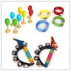 Brand New Baby Musical Toys Mini Tambourine Maracas Clown Bells