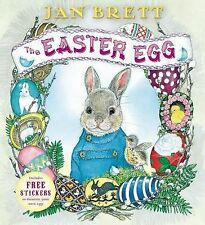 EASTER EGG by Jan Brett NEW children's picture book hardcover/dustjacket HB/DJ
