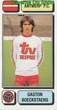 027 GASTON BOECKSTAENS BELGIQUE ANTWERP.FC STICKER FOOTBALL 1983 PANINI