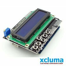 ARDUINO LCD KEYPAD SHIELD LCD1602 INPUT OUTPUT EXPANSION BOARD ARDUINO BE0117