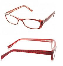 Foster Grant Jackie Cats Eye Red Wine Readers +2.50 Strength *Buy more & $ave