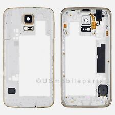 USA OEM Samsung Galaxy S5 G900A G900T G900V G900R4 G900P Back Frame Housing Gold