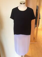 Betty Barclay Dress Size 12 BNWT Black And White Layered RRP £140 NOW £63