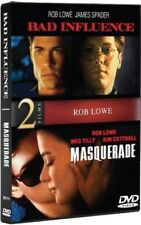 BAD INFLUENCE + MASQUERADE New Sealed DVD Rob Lowe Double Feature