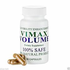 VIMAX VOLUME PILLS SPERM VOLUMIZER - 1 BOTTLE,  PRIVATE