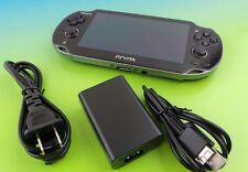 Used Sony PlayStation PS VITA 3G PCH-1101 Handheld System Console Black #va5tr