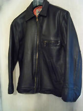 VINTAGE LEVI LEATHER HIGHWAYMAN MOTORCYCLE JACKET SIZE M LTD EDITION