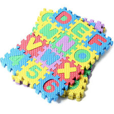 36pcs New Alphabet & Numerals Baby Kids Play Mat Educational Toy Soft Foam Mats