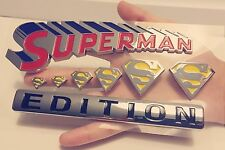 1000% SUPERMAN FAMILY EDITION emblem JEEP car TRUCK boat LOGO decal SIGN *NEW 1.