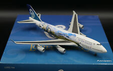 Air NewZealand B747-400 Lord of the Rings Reg: ZK-SUJ Dragon Wings  1:400   RARE